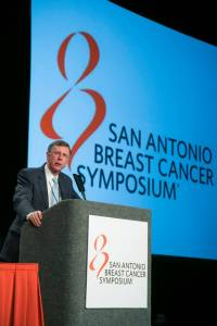 Dr. Kent Osborne at the annual San Antonio Breast Cancer Symposium