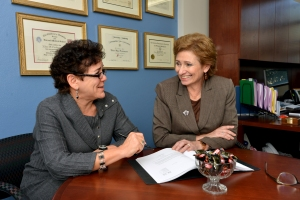 Dr. Ellen Friedman and Andrea Croft