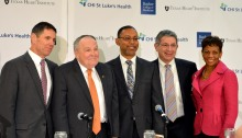 Baylor St. Luke's Medical Center press conference