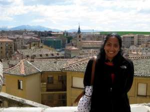 Second-year medical student Vidya Eswaran