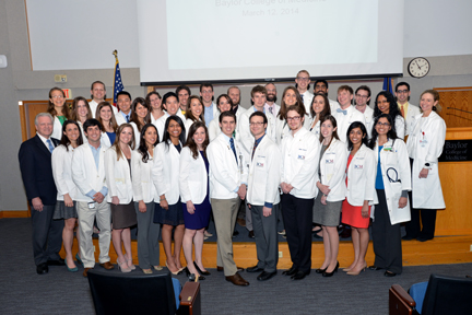 Medical student inductees