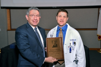 Dr. E. Lee Poythress with Dr. Klotman