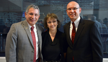 Drs. Paul Klotman, Dora Angelaki and Martin Matzuk