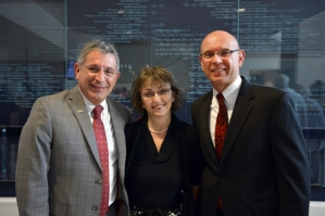 Drs. Paul Klotman, Dora Angelaki and Martin Matzuk