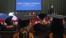 Dr. Paul Klotman addressed allied health graduates
