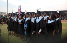 University of Botswana Medical School graduation
