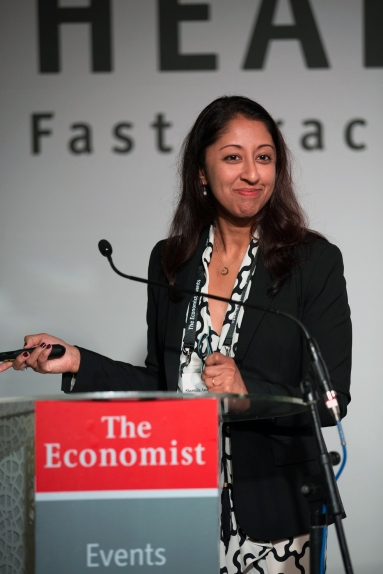 Dr. Sharmila Anandasabapathy at the Africa summit