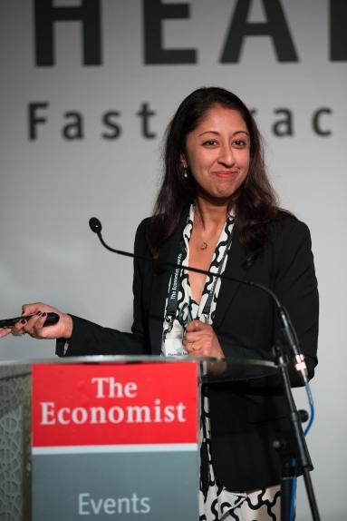 Dr. Sharmila Anandasabapathy at the Africa summit