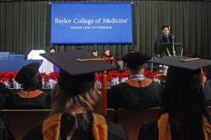 Dr. Paul Klotman addresses allied health graduates