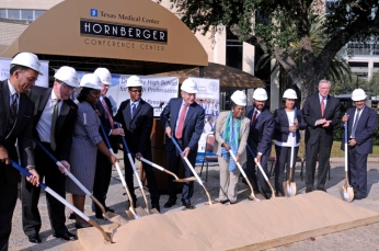 DeBakey High School groundbreaking