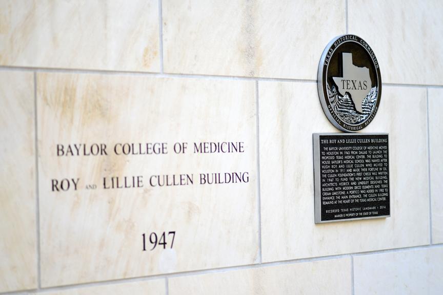 Cullen Building dedication