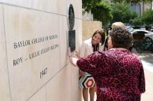Cullen Building historical dedication