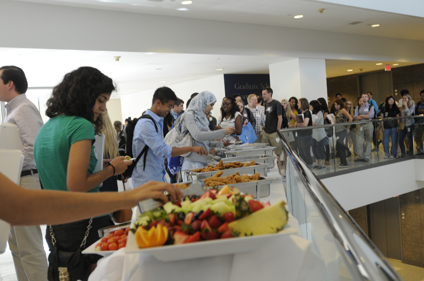 Welcome new grad students