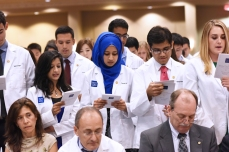 Reciting the Medical Student Oath