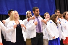 First-years don their white coats
