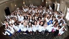Medical student White Coat Ceremony