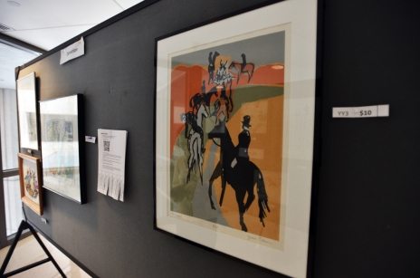 Art at the annual show
