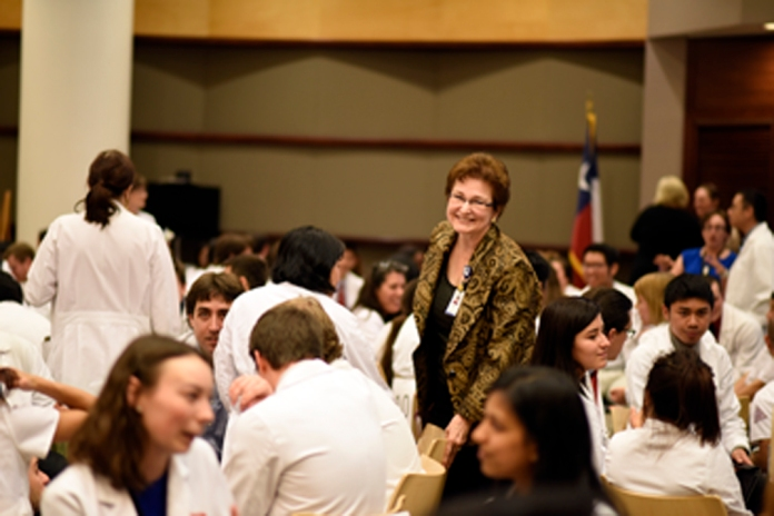 Dr. Ann Gill facilitates discussion