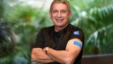 Dr. Paul Klotman got his flu shot!