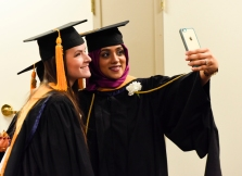 Commencement selfies!