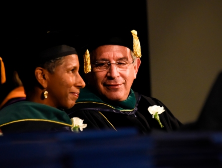 Drs. Alicia Monroe and Paul Klotman