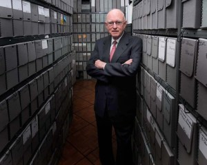 Butler in archives