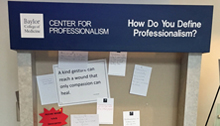 Center for Professionalism