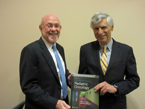 Dr. David Poplack and Dr. Philip Pizzo
