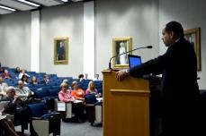 Dr. Rimawi, symposium chair.