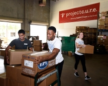 Heavy lifting at Project C.U.R.E.