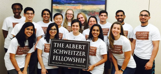2016-2017 Schweitzer Fellows