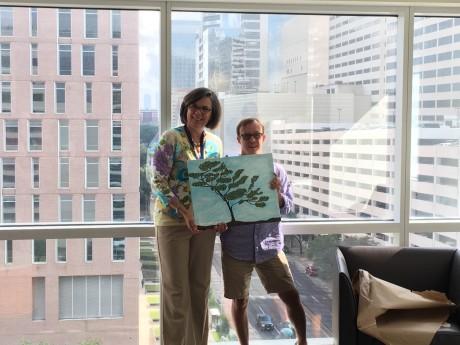 Dr. Cynthia Peacock and Brandon Lack