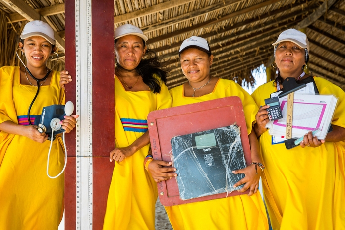 Indigenous healthcare workers in La Guajira ( Photo by Smiley N. Pool / © 2015 )