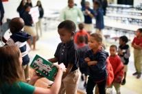 Happy elementary students!