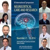 Neurocritical care conference in South America.