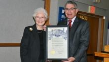 Dr. Janet Butel and Dr. Paul Klotman