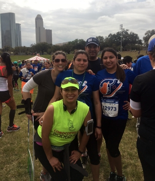 Sports medicine at the Rodeo Run.