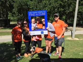 Walking to fight bladder cancer