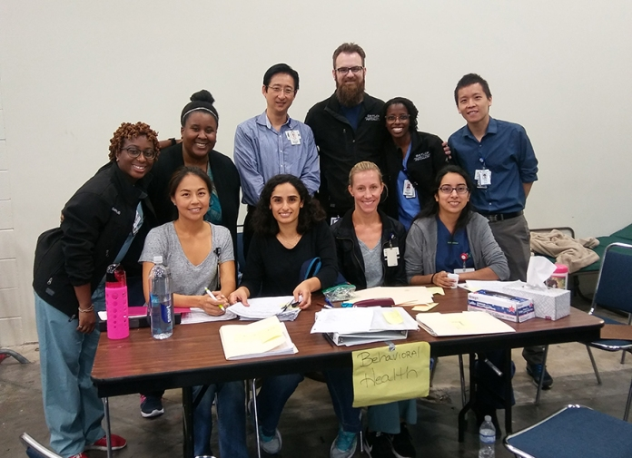 The behavioral health team at the GRB.