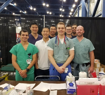 Drs. Lucas Harvey, David Sun, Daniel Sun, Jet Liu, Brian Davis, David Maxfield, Darshan Patel, Chris Perkins.