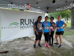Running for a good cause.