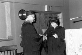 PA graduation, 1987.