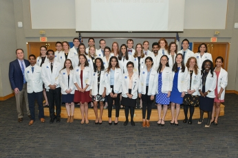 Medical student inductees.