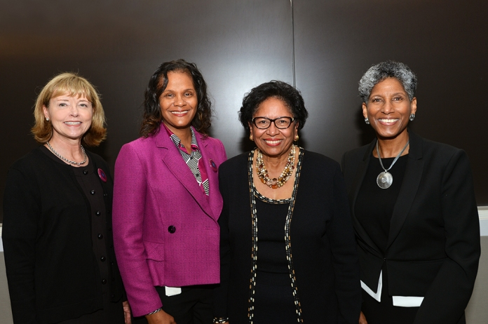 Drs. Nancy Moreno, Toi Harris, Ruth Simmons and Alicia Monroe.