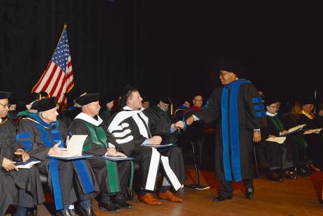 Fist pump for the grad!