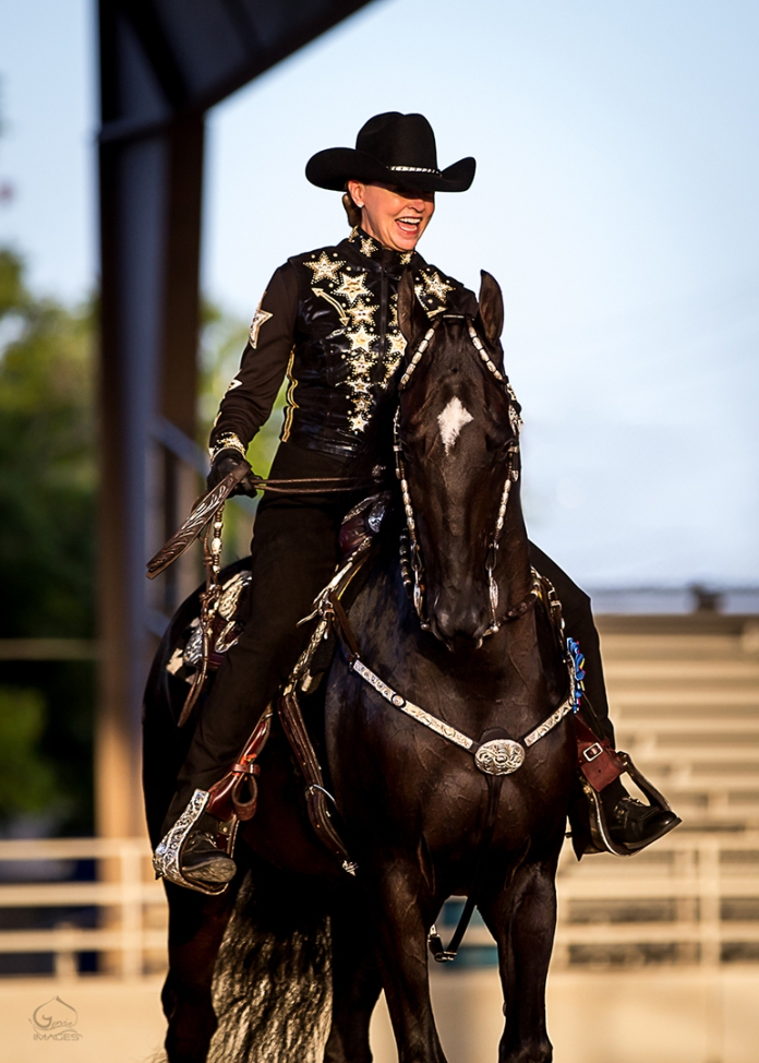 Nancy Moreno and horse 2