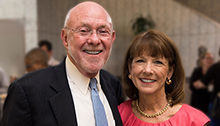 Drs. David Poplack and Susan Blaney