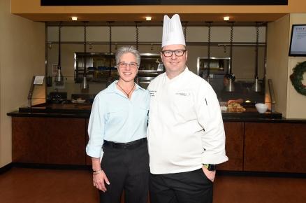 Cindy Buckmaster and Garrett Lucas.