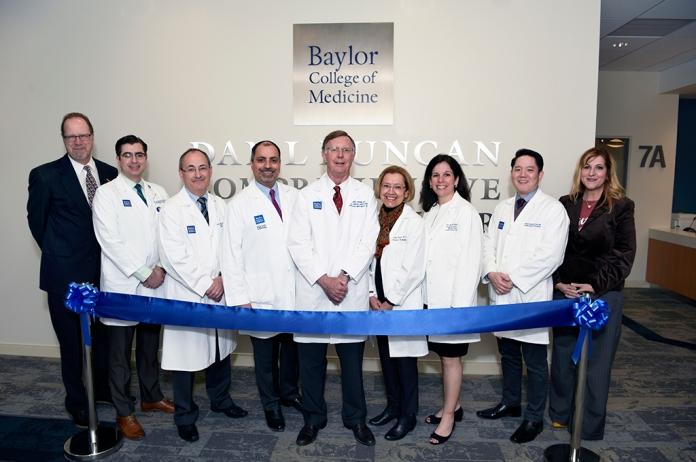 Dr. Osborne with clinic team.