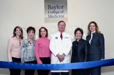 Dr. Osborne with patient advocates.